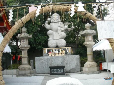 20080111tokyo_jussha099kanda_myoujin.JPG 東京十社   神田神社 茅の輪と大黒様